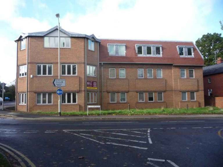 Conversion of office block to 12 apartments, Wokingham