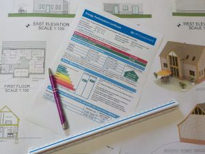 Paperwork for completing an Energy Performance Certificate calculation for UK Building regulations when SAP 10 arrives - talk to Blewburton Ltd to achieve this.
