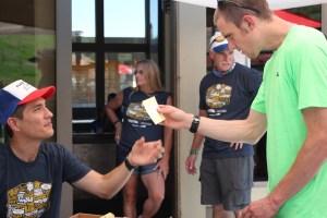 Zach Szablewski pre-race at 2017 Western States 100 Ultramarathon