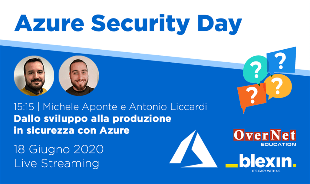Azure Security day live streaming