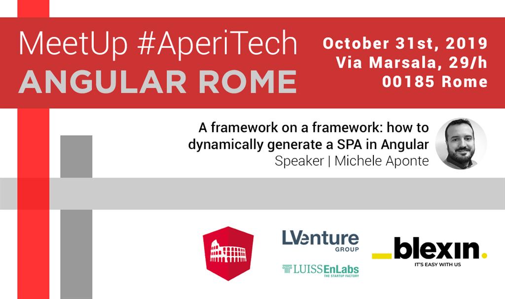 Meetup AperiTech di Angular Roma