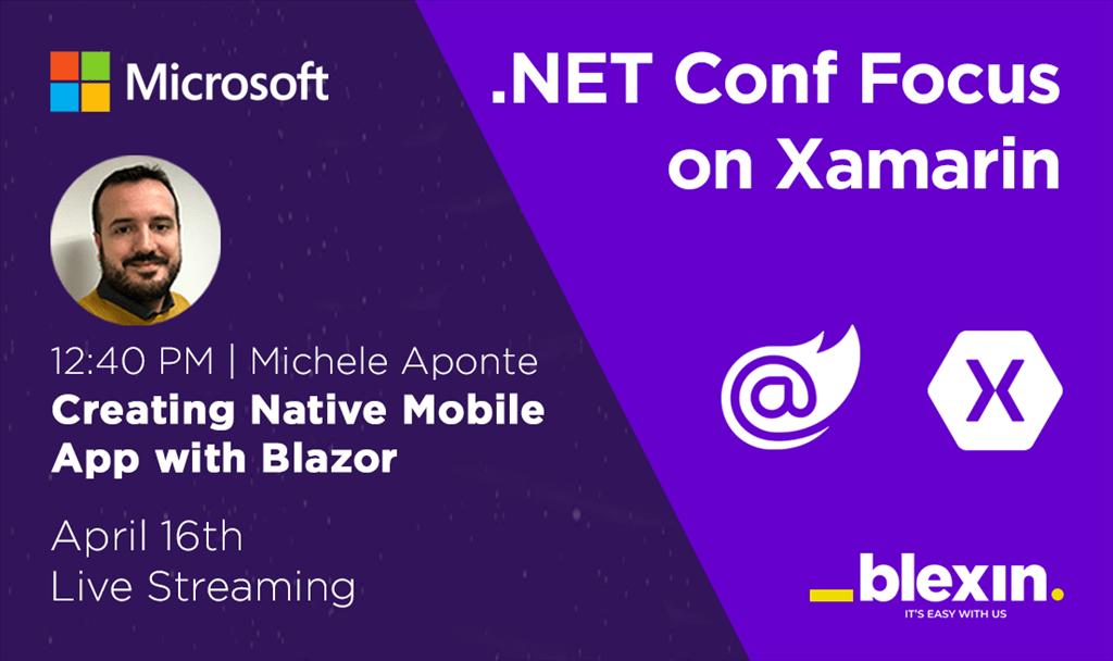 Microsoft .NET Conf Xamarin