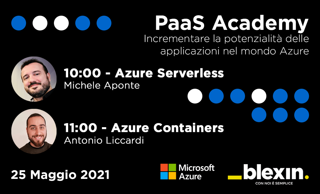 PaaS Academy: Azure Serverless e Containers