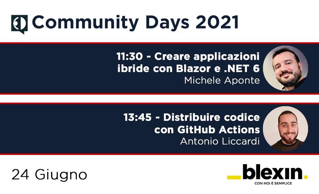 Community days 2021