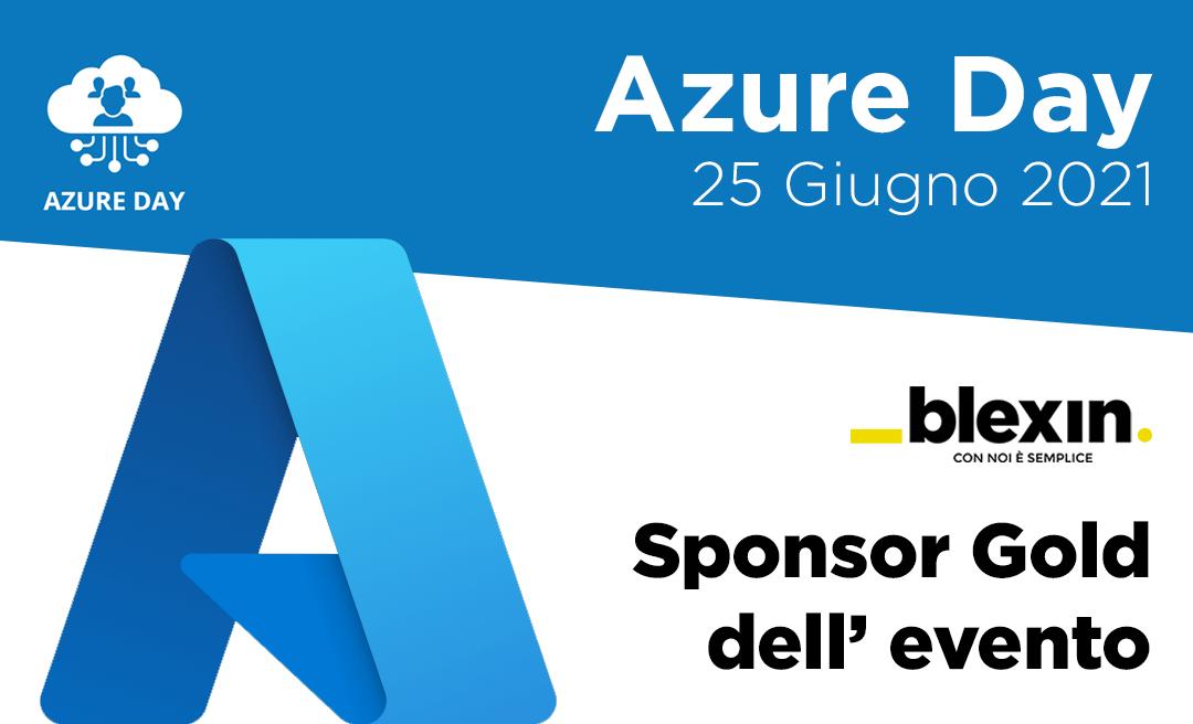 Siamo sponsor di Azure Day 2021