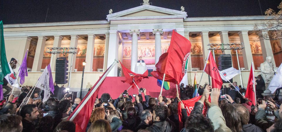 THE IDEOLOGICAL STRUGGLE TO KEEP SYRIZA ON THE SOCIALIST PATH