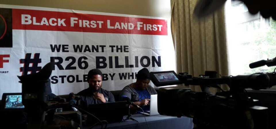 Black First Land First Press Release – 26 January 2017