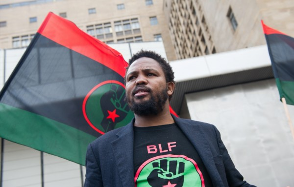 BLF-SM thanks President Andile Mngxitama for his unfailing commitment to black liberation