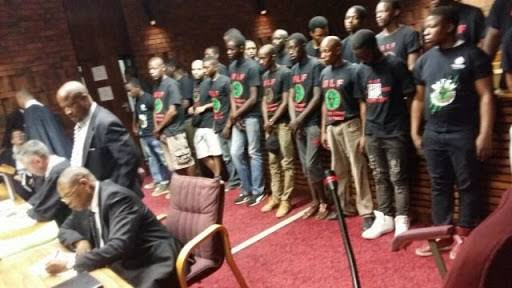 #BLF26 back in court for violating apartheid era law