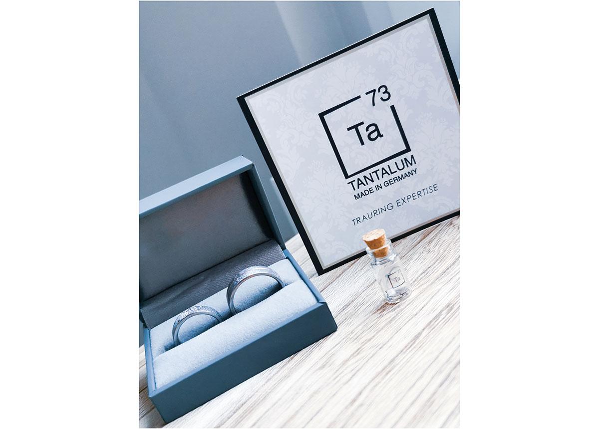 Tantalum Trauringe steht für bewussten Konsum, Nachhaltigkeit und Hochwertigkeit.