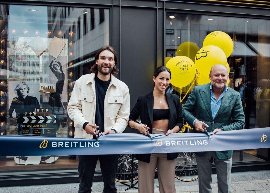 Breitling_Boutique_Koeln_Gizem Emre_Erik_Zabel