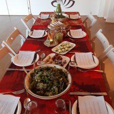 Een lunch verzorgen tijdens een retraitedag…
