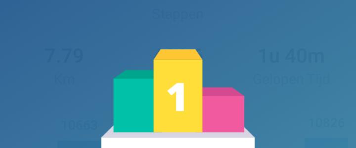Wat een uitdaging: 1 week 10.000 stappen per dag