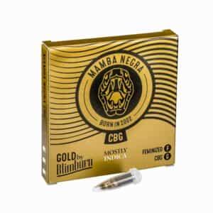 MAMBA NEGRA CBG cannabis seeds pack