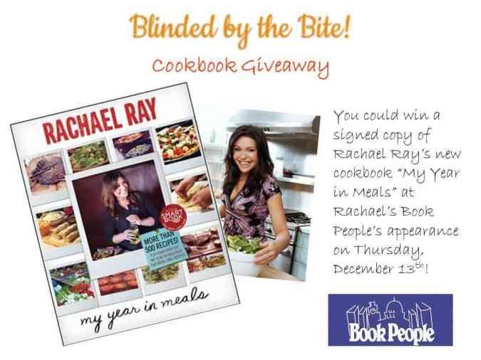 Rachael Ray Cookbook Giveaway