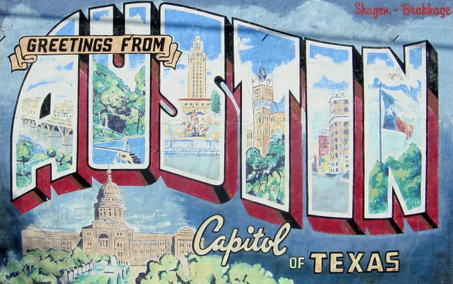 Greetings from Austin, TX