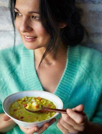 Corn Soup- The Blender Girl