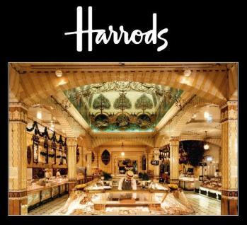 Entrance into Harrods Food Halls