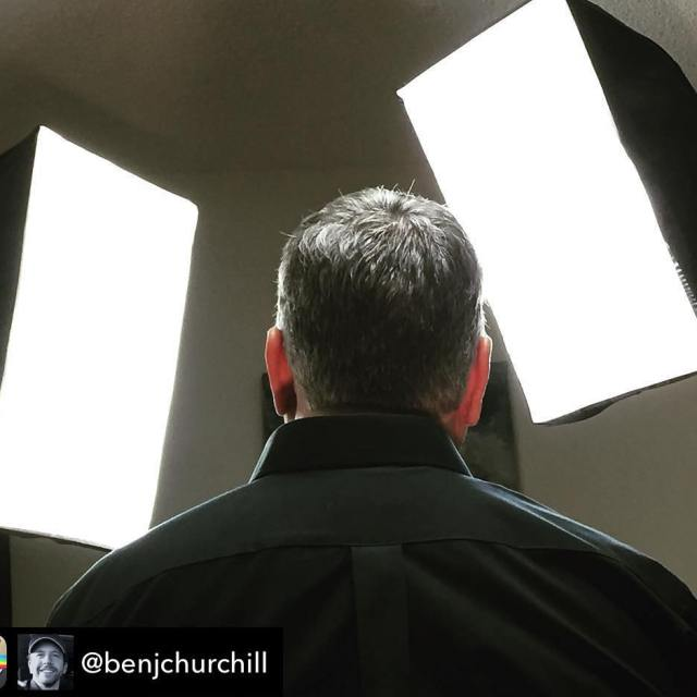 Repost from benjchurchill  Working hard on new episodes ofhellip