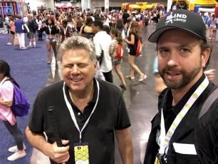 June 24, 2016 - Tommy Edison & Ben Churchill at VidCon 2016