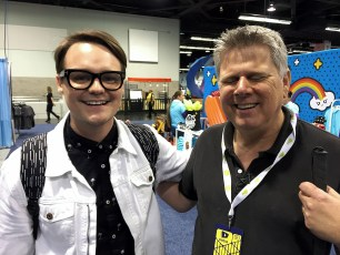 June 24, 2016 - Tommy Edison & Mitchell Davis at VidCon 2016