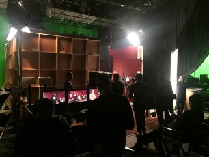 Jan. 26, 2017 - On set at Tosh.0 with Tommy Edison