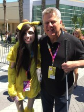 June 24, 2017 - Tommy Edison and Eugenia Cooney at VidCon 2017