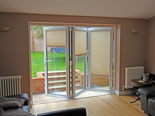 Vertical Blinds For Fitting In Bi Fold DoorsBlind Fitting