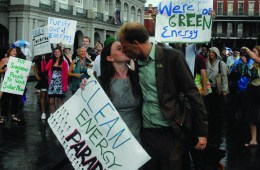 March For Clean Energy - Organized by Rebecca and Josh Tickell