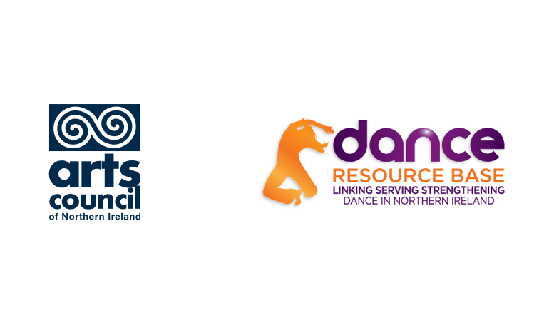 Arts Council Northern Ireland log and Dance Resource Base logo