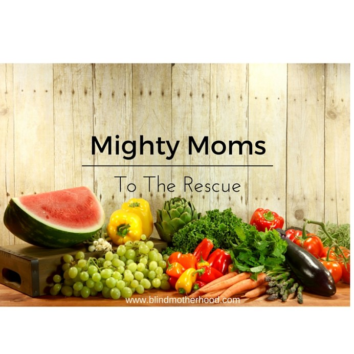 Mighty Moms to the Rescue: How Fellow Blind Moms Encouraged Me