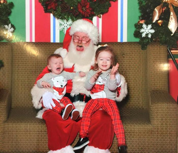 To Santa, From the Mom Whose Child Asked You to 'Fix Mommy's Eyes'