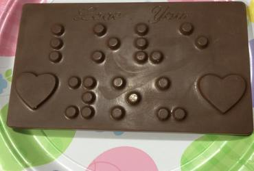 Chocolate Braille Bars