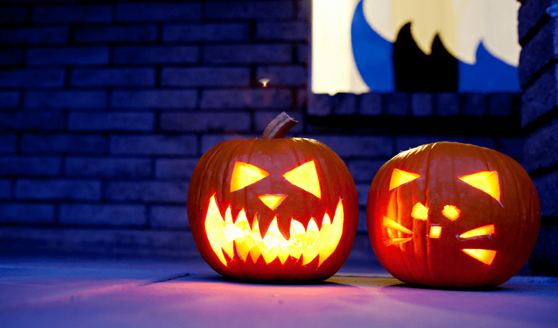 Halloween Jokes for Toddler Folks & Pineapple Jack O'Lanterns