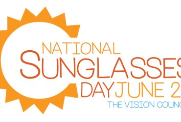 June 27th is National Sunglasses Day!
