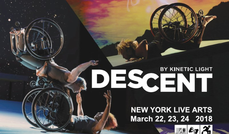 "Alice Sheppard & Kinetic Light Present NY Premiere Of ""DESCENT"""