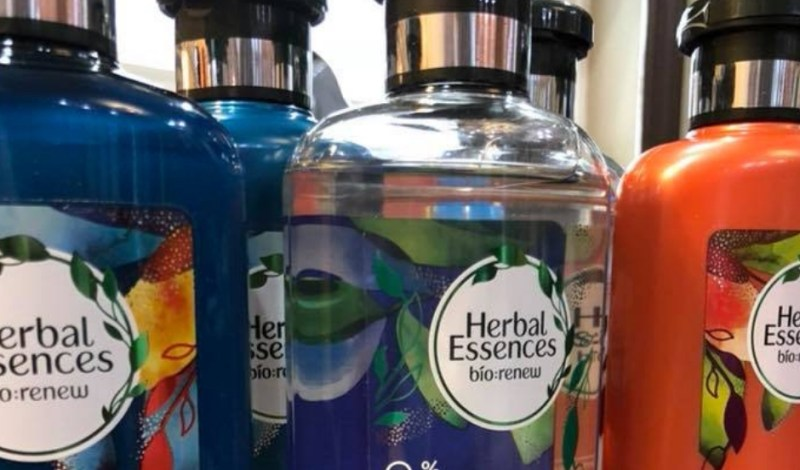 Herbal Essences Hair Care Creates Inclusive Bottle Design for Visually Impaired