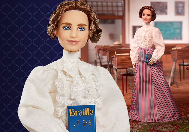 Barbie Debuts Helen Keller Doll