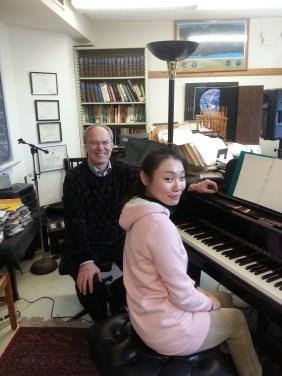 Yeaji Kim and Todd Welbourne