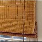 Woven Timber Blind - Bamboo wood weave blind