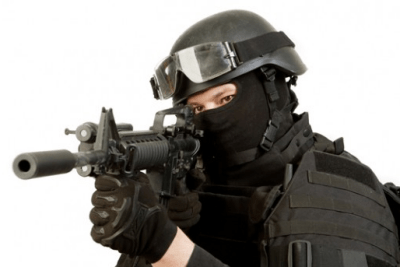 Special Weapons and Tactics (SWAT) Police Officer