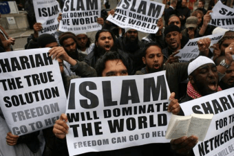 Fundamentalist Jihadists Demonstrate in London