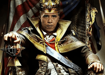 The Man Who Would Be King... if it weren't for that pesky Constitution!