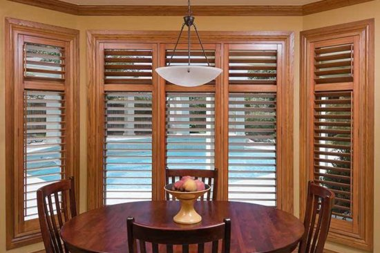 O'Hair Wood Shutters. Custom Interior Plantation Shutters - Blinds Brothers