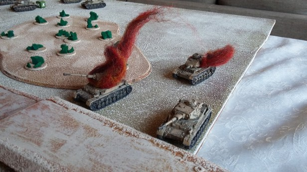 12 - Panzers on the left go boom