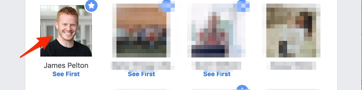 How to see posts first