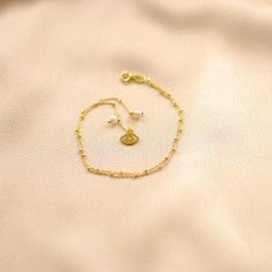collar cadena ojo turco bling bling