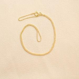 collar choker dorado bling bling