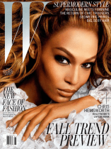 Joan Smalls W July 2012 cover