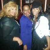 Tracey Brown, Sharontina Brightman and June Ambrose at Destination IMAN Launch Party September 7, 2012